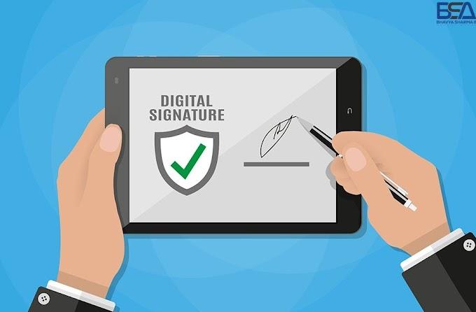 FAQs on Digital Signature Certificate (DSC) | Bhavya Sharma & Associates