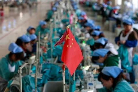 Enyhén gyorsult a kínai feldolgozóipar növekedési üteme novemberben