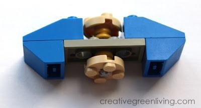 DIY fidget spinner tutorial - Lego fidget spinner instructions