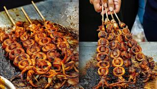 Cumi Bakar Usaha Kuliner Menguntungkan