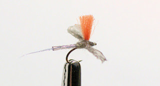 fripple bwo blue winged olive fly pattern