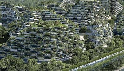 Konsep kota hutan di China