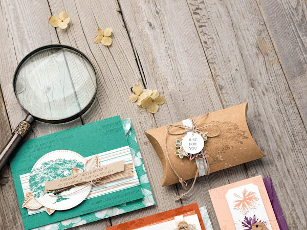 Stampin' Up! Watch It Wednesday - Rooted In Nature Bundle by Stampin' Up!