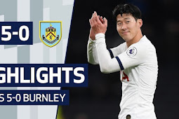 Cuplikan Gol Tottenham Vs Burnely 5-0
