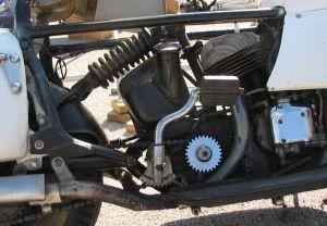 Courtney Enterprise rear suspension detail