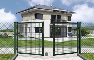 foto portão em telas