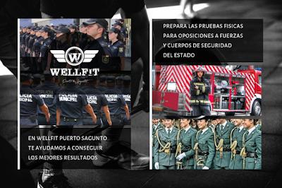 Gimnasio WellFit Puerto Sagunto - Prepara pruebas físicas para oposiciones
