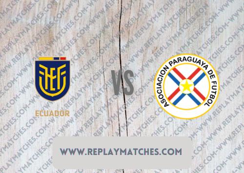 Ecuador vs Paraguay -Highlights 02 September 2021