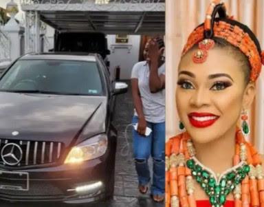 Ehi Ogbebor Buys Her Personal Assistant A Benz (Photos)