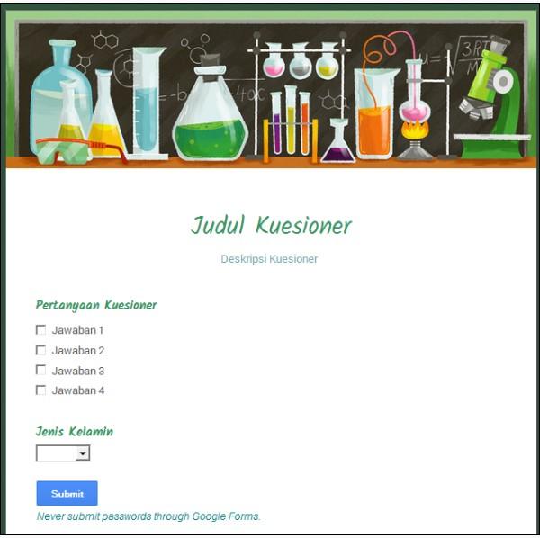 Cara Membuat Kuesioner Online Dengan Google Forms Jendela Artikel Millenial