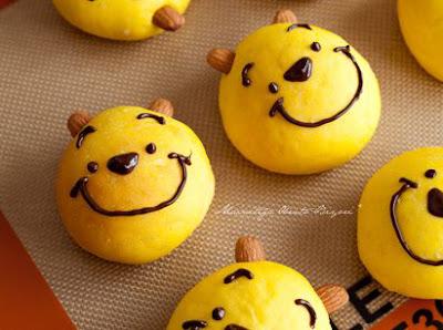 winnie the pooh panbrioche