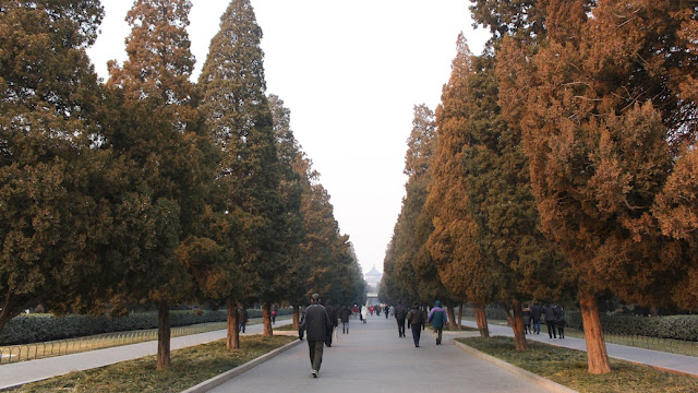 winter di temple of heaven