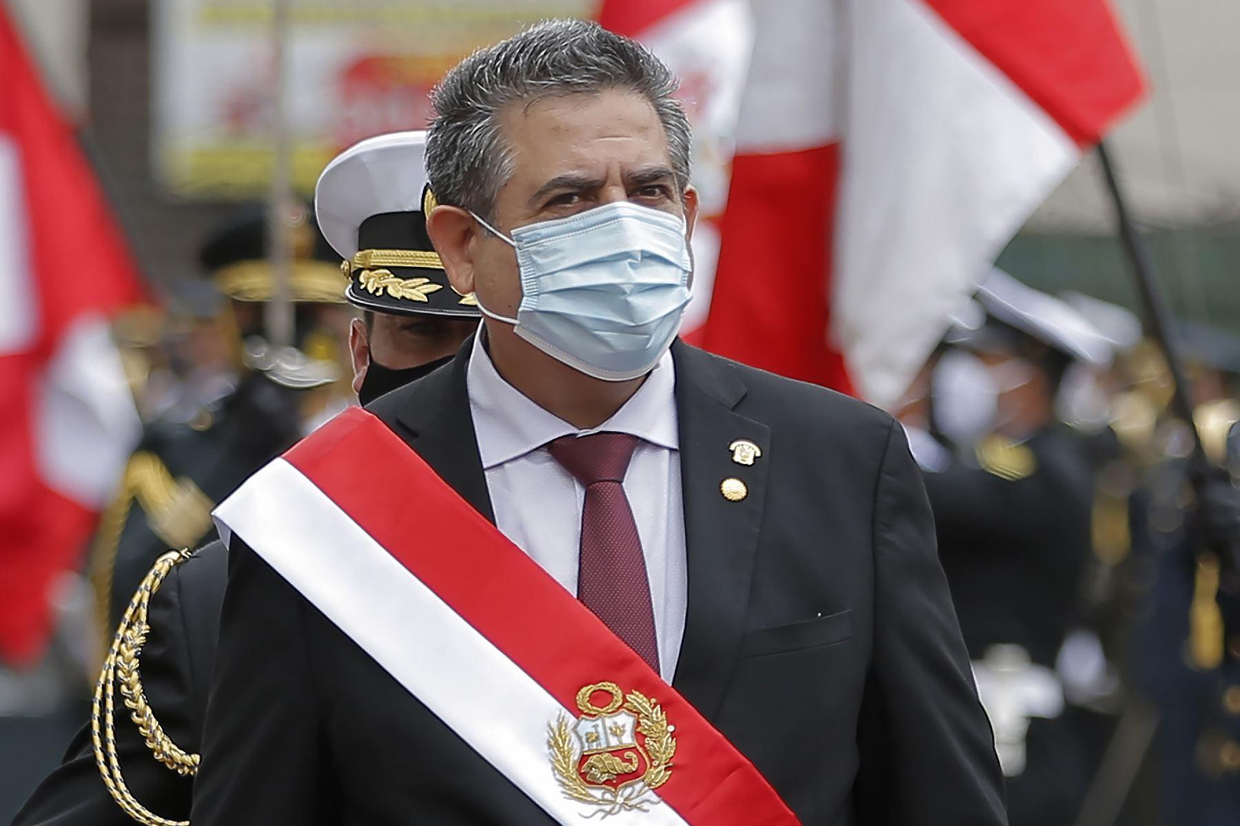 """Presidente Manuel Merino:  """"La Sunedu contará con nuestro apoyo absoluto"""""""