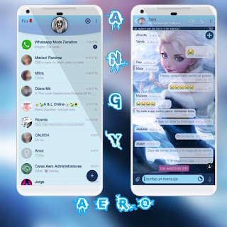 Baby Girls Theme For YOWhatsApp & Fouad WhatsApp By Angyfenix