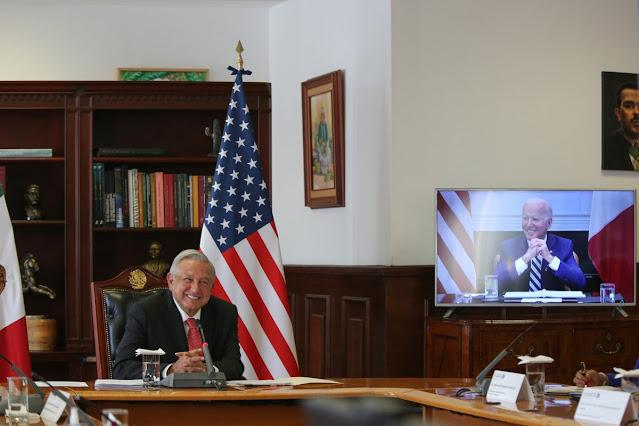 AMLO y Biden sostienen su primera reunión virtual. Twitter