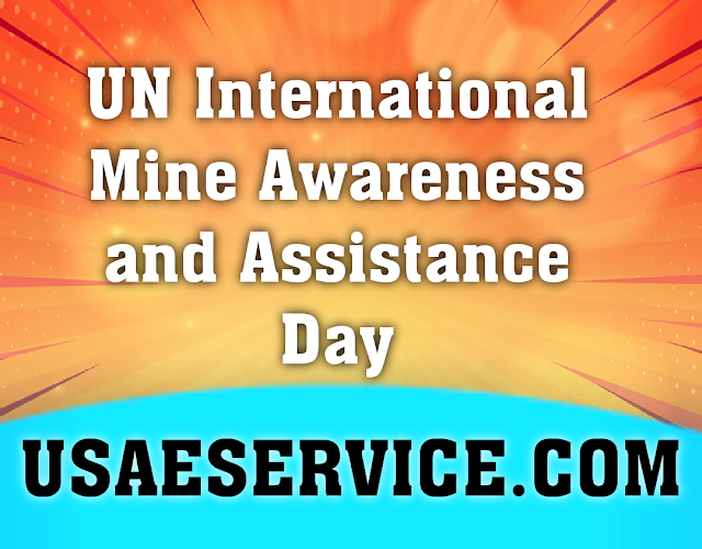 International Mine Awareness Day