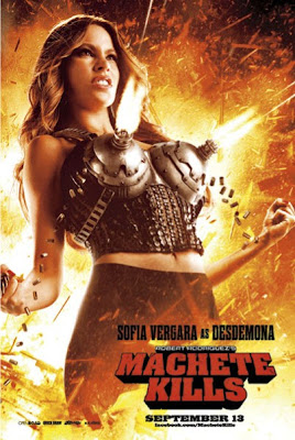 Machete Kills Movie 2013 - Sofia Vergara Poster