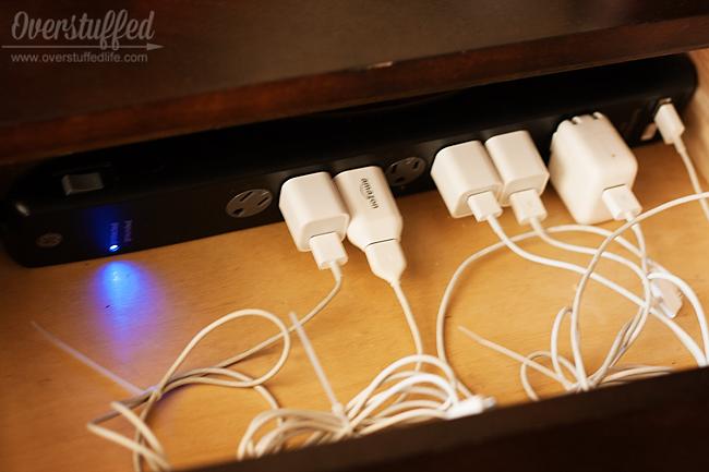 Easy Diy Electronics Charging Station