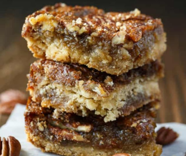 MAPLE PECAN SQUARES RECIPE