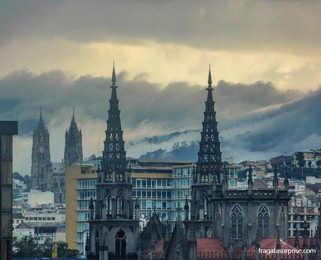 Horizonte de Quito, Equador