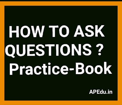 How to ask questions practice hand book.