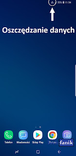 s9+ikona oszczędzania danych