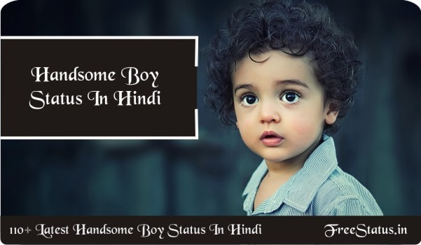 120+ Handsome Boy Status In Hindi / 2020 Attitude Status Latest Collection