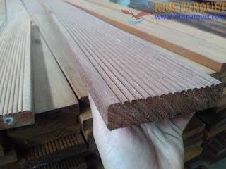 Harga lantai kayu untuk halaman atau outdoor merbau
