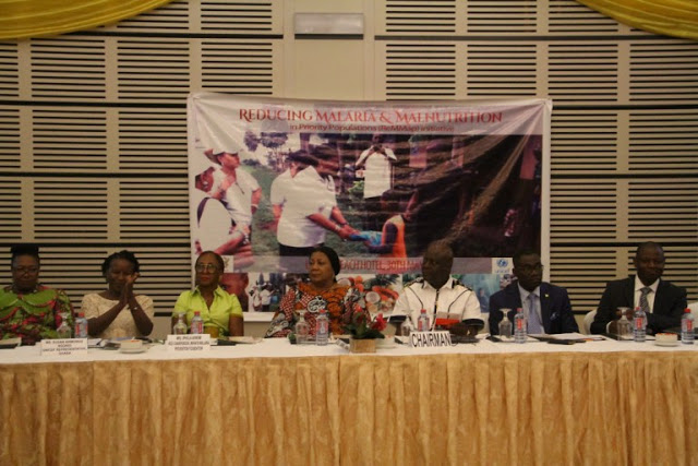 "First Lady Mrs Rebecca Akufo-Addo Launches ""Reducing Malaria And Malnitrition Initiative"""