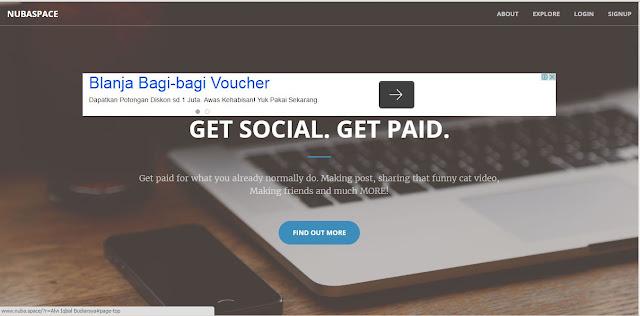 NubaSpace Media Sosial Terbukti Membayar