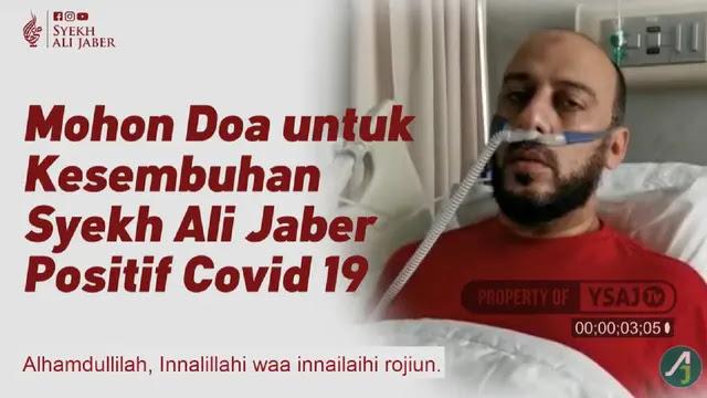 Innalillahi, Syekh Ali Jaber Dilarikan ke Rumah Sakit, Mohon Doanya Semoga Segera Sembuh, Aamiin
