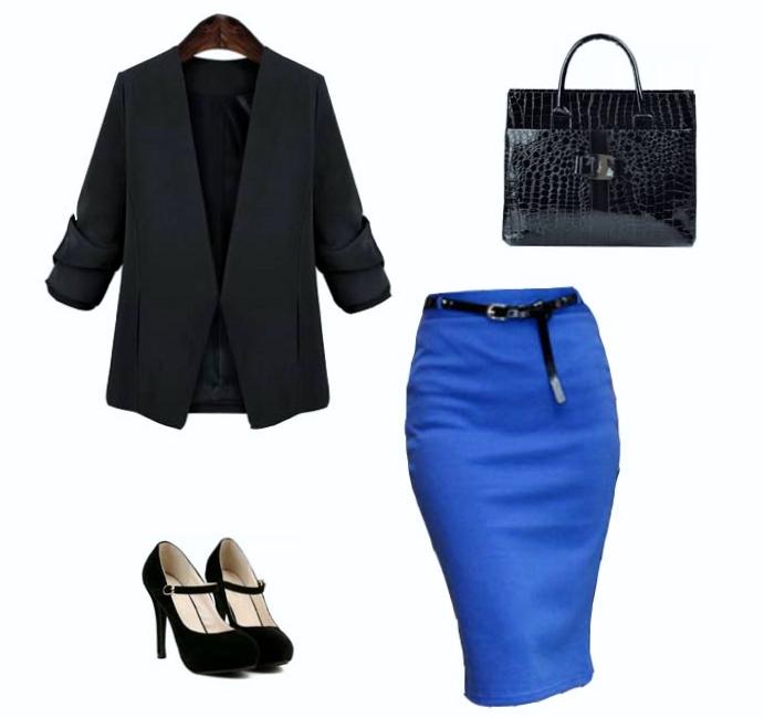 Look de Oficina Work office ropa conjunto