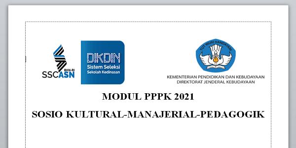 Download Modul Tes PPPK 2021 untuk Guru SD