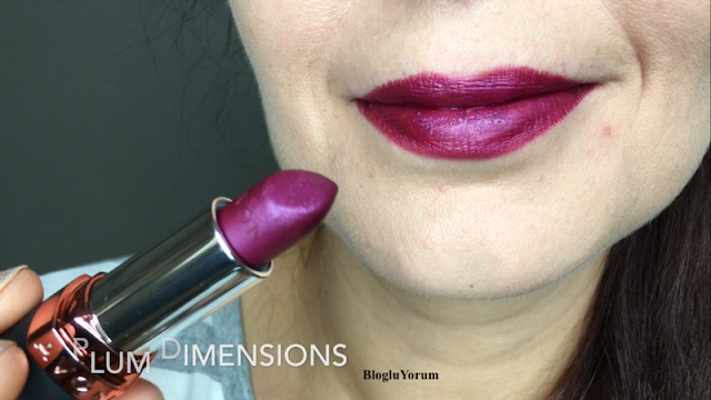 Avon Velvet Luminosity Metalik Mat Ruj Plum Dimensions