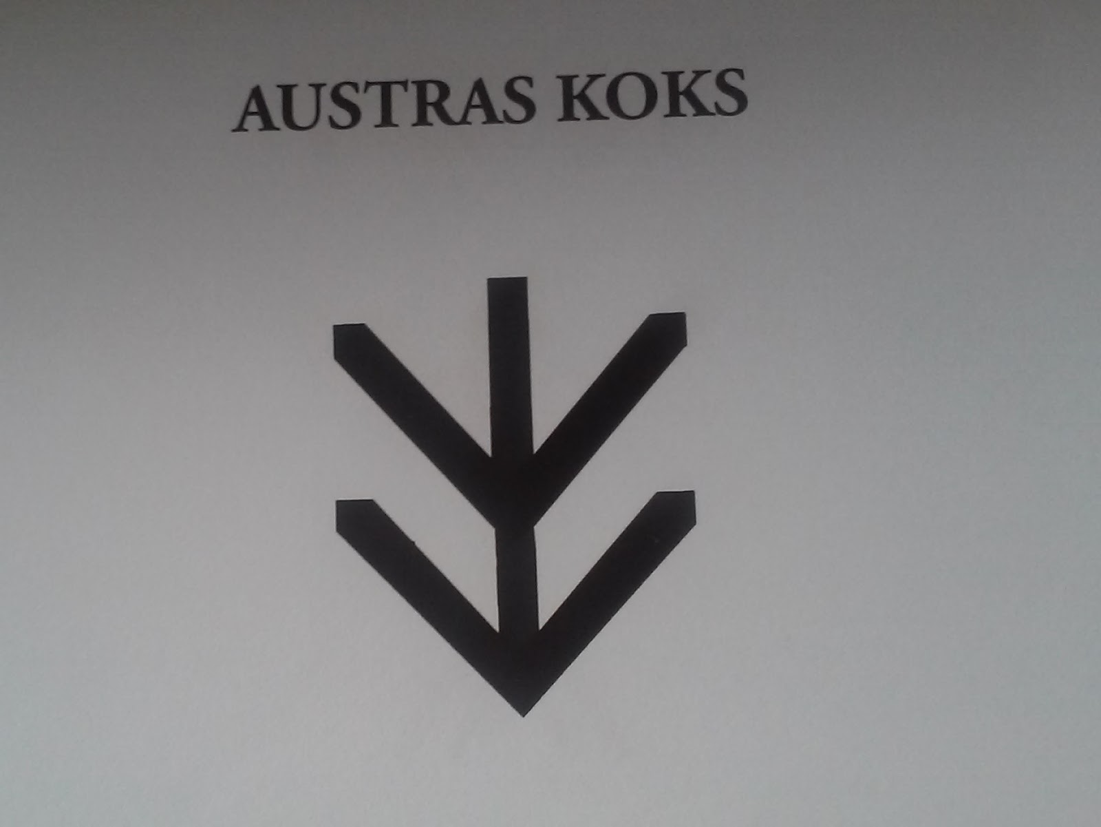 Latvian Ethnographic Signs Anniens