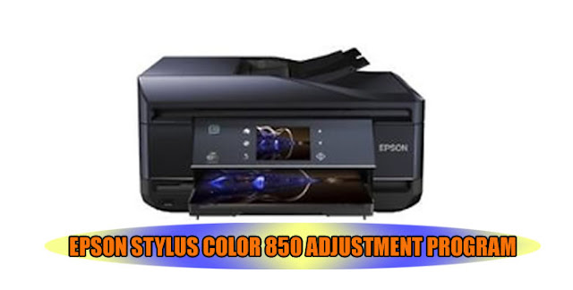 Epson Stylus Color 850 Printer Adjustment Program
