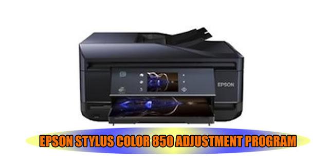Epson Stylus Color 850 Printer Adjustment Program