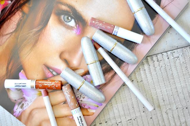 kosmetyki do ust glamshop - recenzja pomadek, konturówek i błyszczyków glamshop