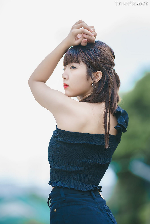 Image Thailand Model - Pakkhagee Arkornpattanakul - Cute Girl In Black - TruePic.net - Picture-8