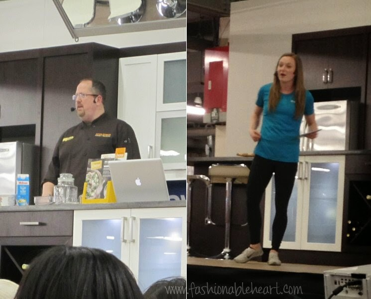 toronto national home show cheesewerks restaurant cooking demo olympic gold medal olympian