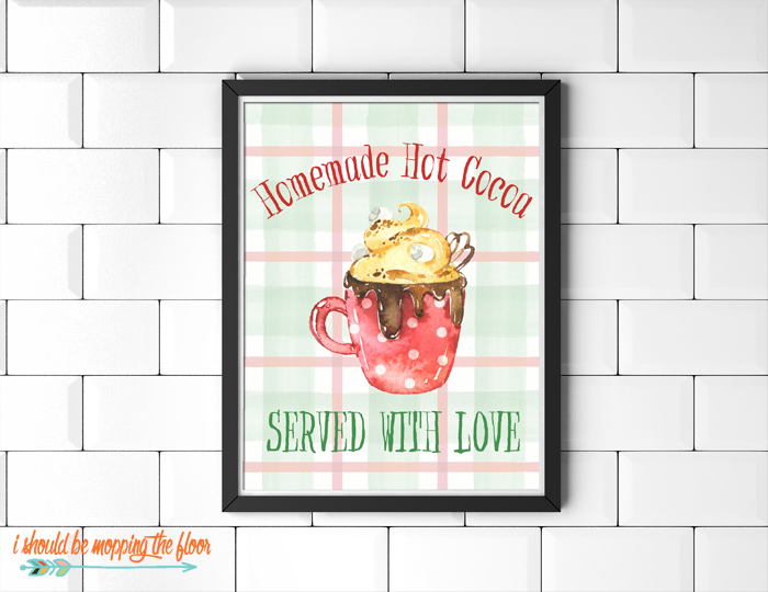 Hot Cocoa Printable