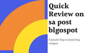 sa post blog, sapost blogspot