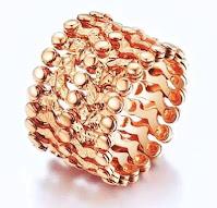 cincin tunangan emas tiara 18k