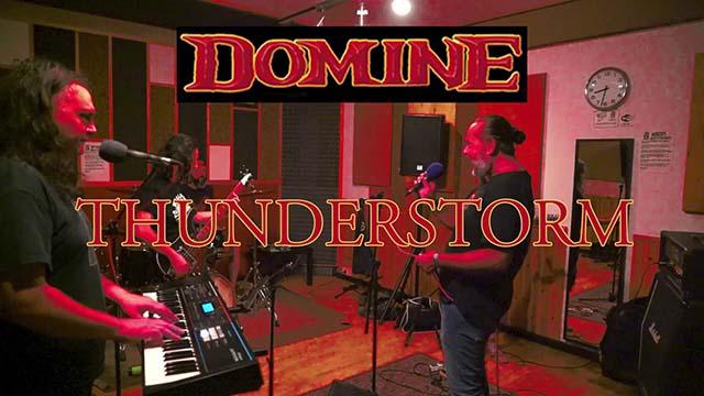 "Domine - ""Thunderstorm"" (video)"