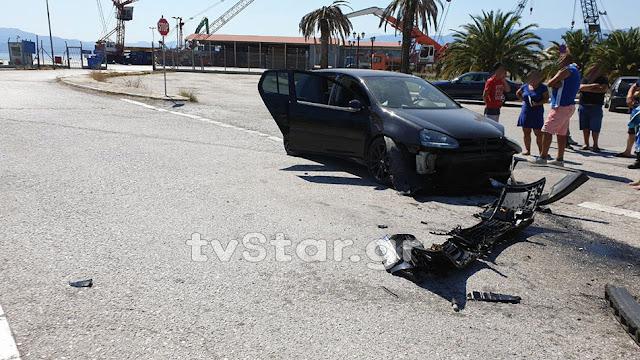 Στυλίδα: Φορτηγό συγκρούστηκε με Ι.Χ. Σοκαρισμένη η οδηγός και τα ανήλικα παιδιά της