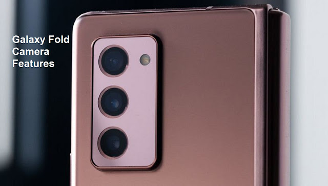Samsung Galaxy Z Fold Camera Features