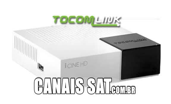 Tocomlink Cine HD Atualização DRMCAM V2.009 - 28/12/2020
