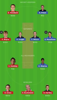 WS vs LT dream 11 team | LT vs WS