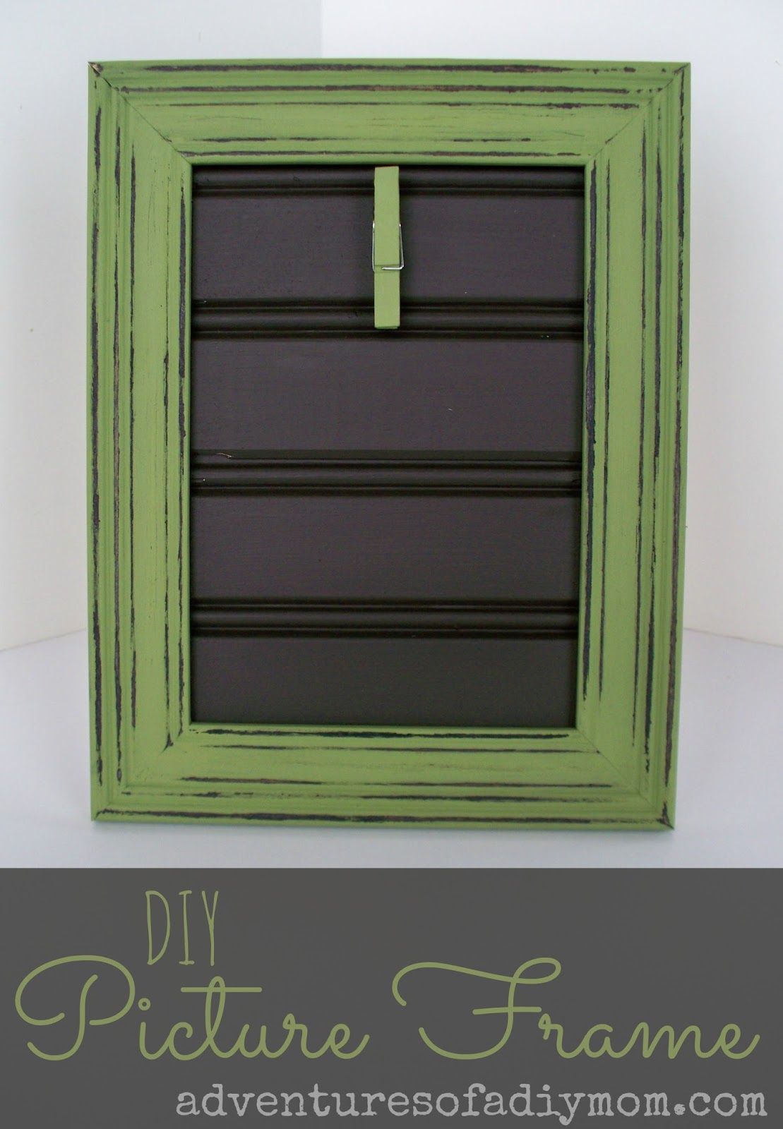 DIY Beadboard Picture Frame