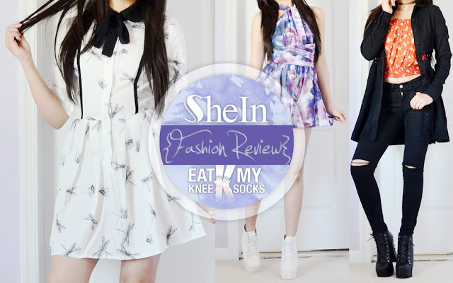 Today I'll be reviewing three new items from SheIn: a dragonfly printed shirtdress, a convertible floral romper, and a pair of ripped black skinny jeans. Details ahead!